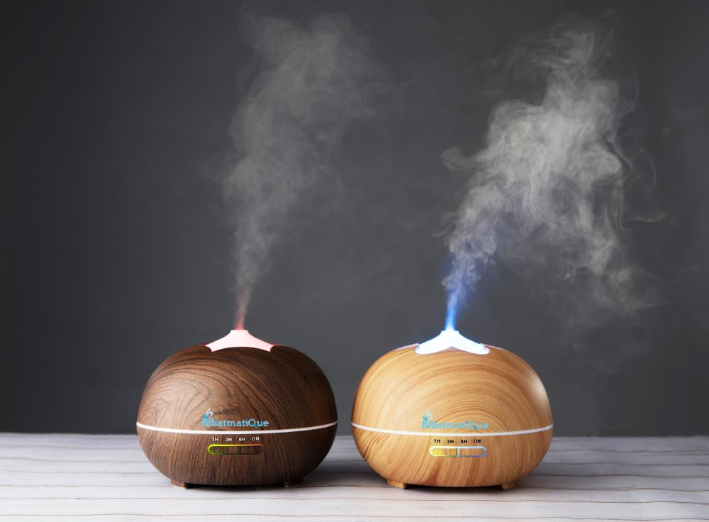 difuzor umidificator aromaterapie uleiuri esentiale